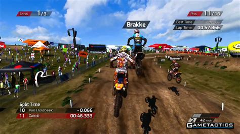 motocross dirt bike games mxgp the official motocross game review playstation 3