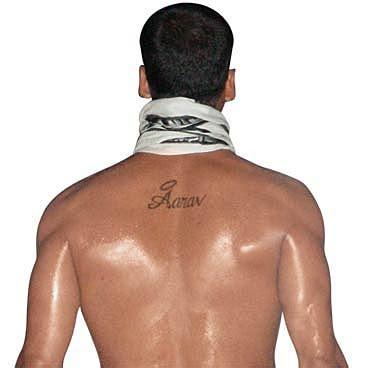 tattoo name akshay shilpa shetty bites the dust gets a tattoo photo17