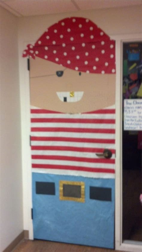 pirate themed door decorations pirate classroom door for month of june classroom door
