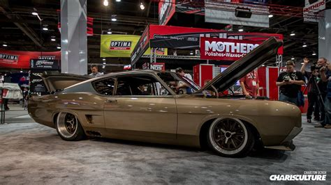 modified muscle cars sema car show las vegas custom race muscle cars suv