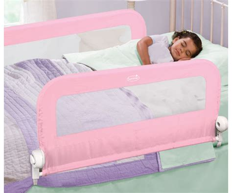 summer infant bed rail summer infant grow with me double bedrail pink bn ebay