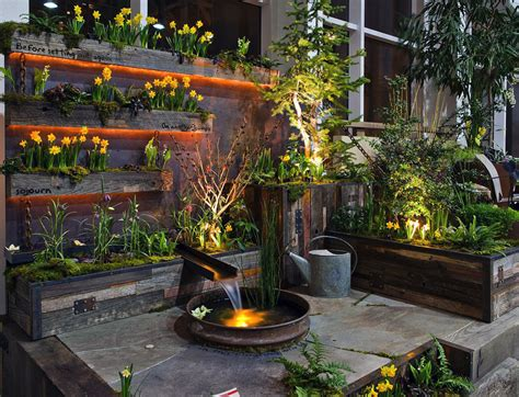 Water Container Garden Ideas Stunning Backyard Design Architecture Interior Design