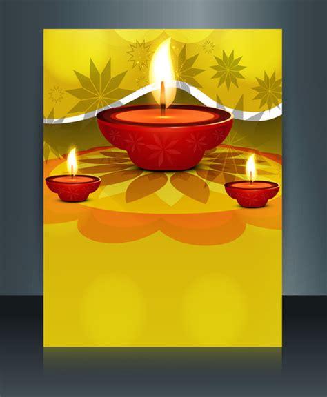 Diwali Card Templates Sparklebox by Vector Beautiful Diwali Celebration Brochure Card Template