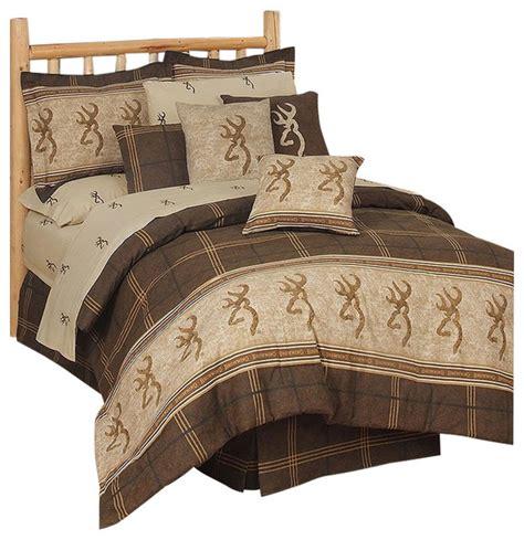 browning buckmark comforter set full rustic quilts
