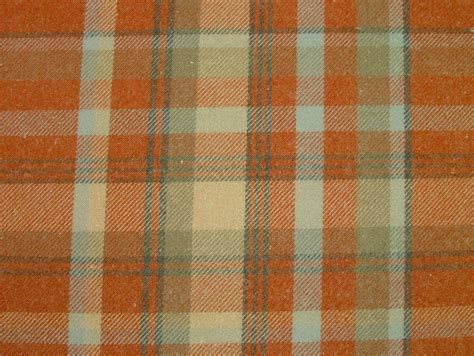 wool tartan curtain fabric elgin autumn wool effect washable thick tartan curtain fabric