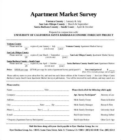 Apartment Leasing Market Survey Template Market Survey Template 11 Free Word Pdf Documents Download Free Premium Templates