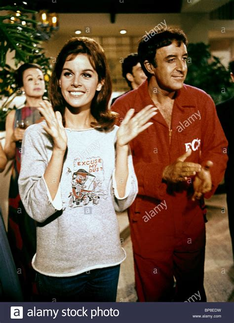 claudine longet movies claudine longet peter sellers the party 1968 stock