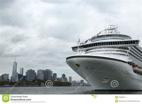 Car Service To New York Cruise Port by Emerald Princess Cruise Ship Docked At Cruise