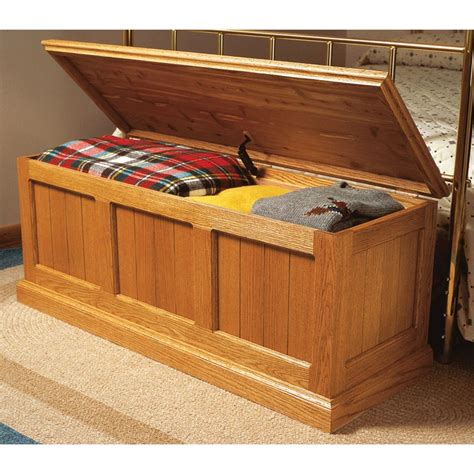chest plans woodworking cedar lined oak chest woodworking plan from wood magazine