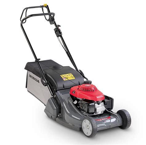 how to start a honda lawn mower honda hrx 476 qx self propelled rear roller petrol lawn mower