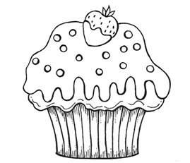 kidscolouringpages orgprint amp download cupcakes coloring pages kidscolouringpages org