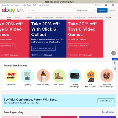 ebay ozbargain ebay 10 off sitewide min 75 spend max 300 discount