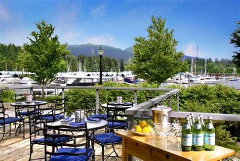 teakholz patio möbel vancouver seawall bar grill vancouver omd 246 om restauranger