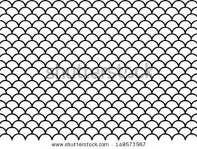 Outline Of A Fish Scale by Fish Scale Pattern Stock Photos Images Pictures