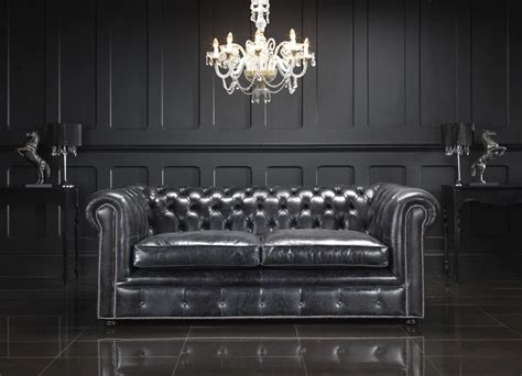 chesterfield vintage sofa amazing black chesterfield sofa with leather black