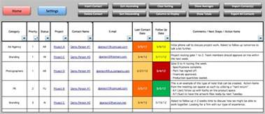 template for project management project management tracking templates excelide