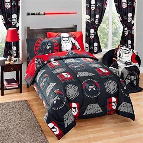 Kid S 15 Pc Bedroom Ensemble Star Wars Episode Vii Rule Wars Bed Sheets