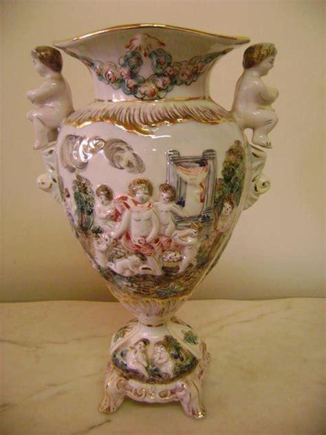 capodimonte vase other porcelain ceramics stunning capodimonte italy