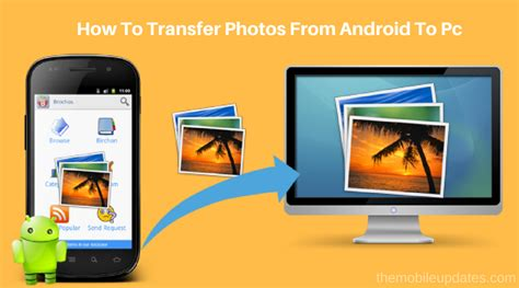 how to from on android how to transfer photos from android to pc