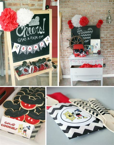 mickey mouse wedding supplies kara s ideas vintage mickey mouse planning