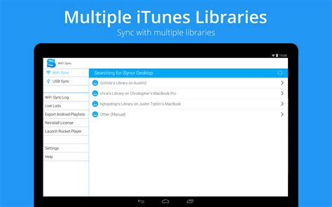 android version of itunes isyncr for itunes android apps on play