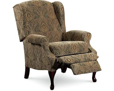 wing recliner chair hton high leg recliner recliners lane furniture