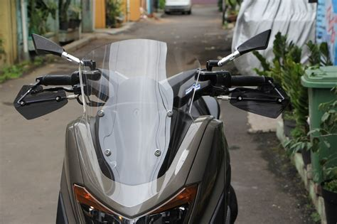 Windshield Yamaha Nmax 50cm Clear Visor Nmax Bonus Bautspeacer jual windshield visor nmax standar sporty windshield