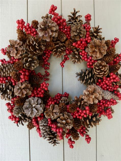 christmas wreath decorating ideas with ribbon