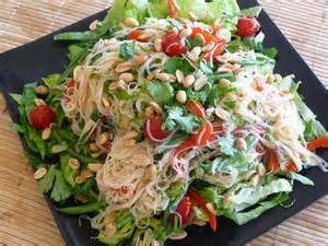 Rice Noodle Salad thai rice noodle salad fresh versatile vegetarian