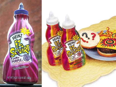 different colored ketchup colored ketchup epic embarrassing product failures