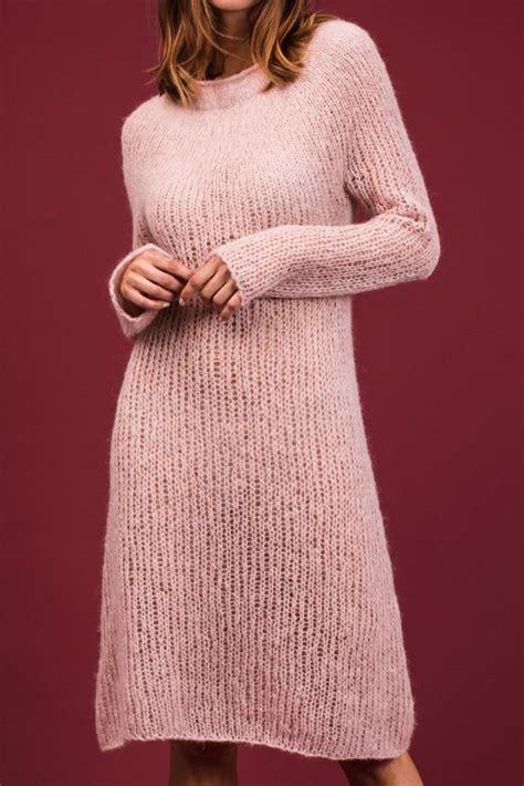 kleid stricken kostenlose strickanleitung strickkleid