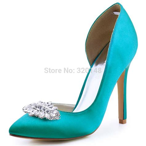 teal high heel shoes buy wholesale teal green heels from china teal