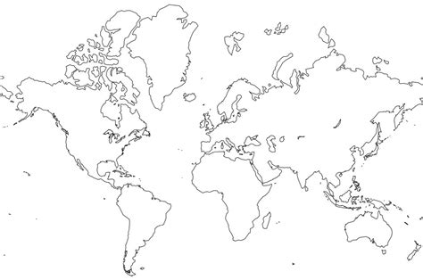 free coloring page world map free printable world map coloring pages for kids best