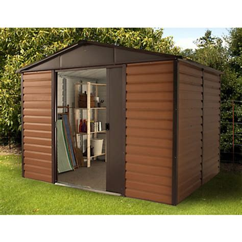 Homebase Sheds by Garden Sheds Metal Plastic And Wooden Sheds At Homebase