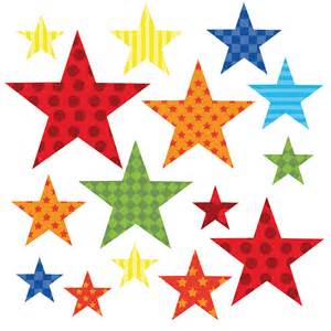 Wall Star Stickers Childrens Bright Star Wall Stickers By Kidscapes