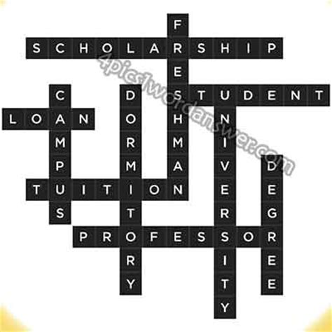 Loan Letters Crossword Bonza Daily Puzzle August 24 2014 Answer 4 Pics 1 Word Answers What S The Word Emoji