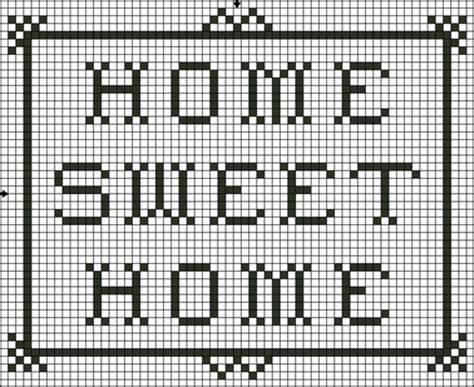 home patterns cross stitch quot home sweet home quot cakecentral