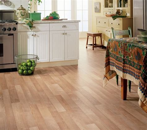 kitchen flooring ideas vinyl vinyl wooden flooring in the kitchen home interiors