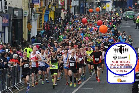 st s day 2016 half marathon st patricks day mullingar half marathon 2016 sportsworld running club