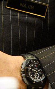 Jam Tangan Mewah Najib jam tangan najib jenama apa