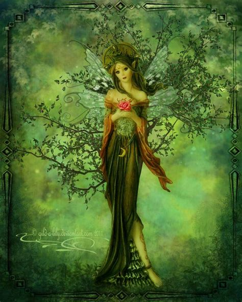 libro the faery forest an nature s fairy nymphs magical elves sprites pixies and winged woodland faeries the faerie