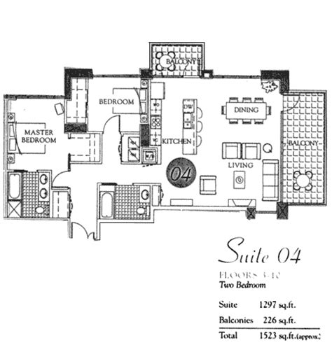 pinnacle floor plans pinnacle floor plan suite 04