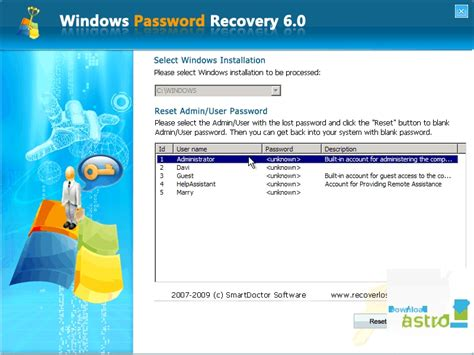 windows vista password resetter free download windows password recovery ultimate latest version 2017