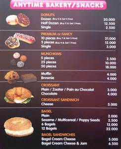 Menu Dunkin Donuts Dunkin Donuts Menu Prices Lebanon Images