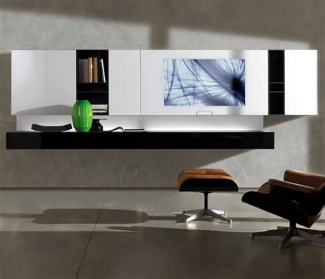 smart charging shelf design ideas modern shelf storage modern shelving designs with built in screens from acerbis