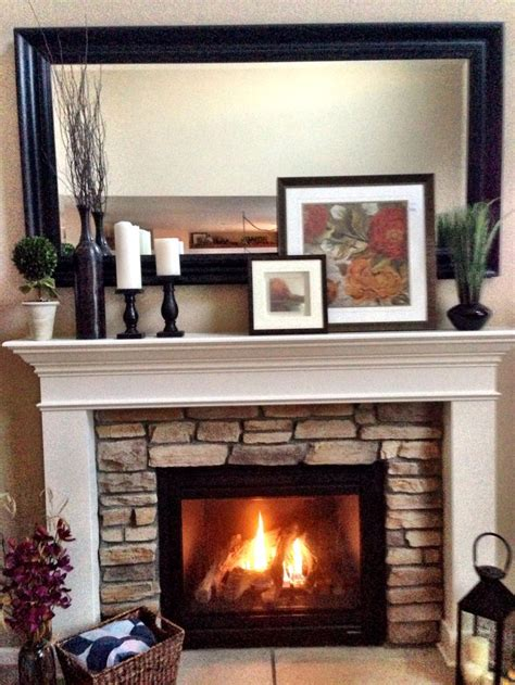 mantel decorating layering c2design home pinterest paint colors fireplaces and stones