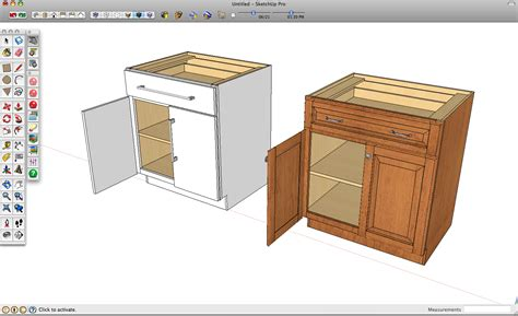 sketchup kitchen design using dynamic component cabinets designing cabinets in sketchup everdayentropy com