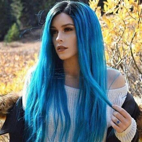 black at root of hair 50 super cool blue ombre hair styles hair motive hair motive