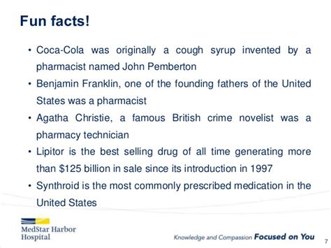 Pharmacy Facts by Pharmacy Week
