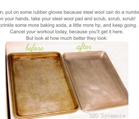 Simple Tip Use Two Cookie Sheets by Quot Great Easy Way To Clean Cookie Sheets Quot Trusper